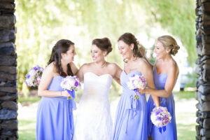 bride and brides made photo in saratogo springs ny